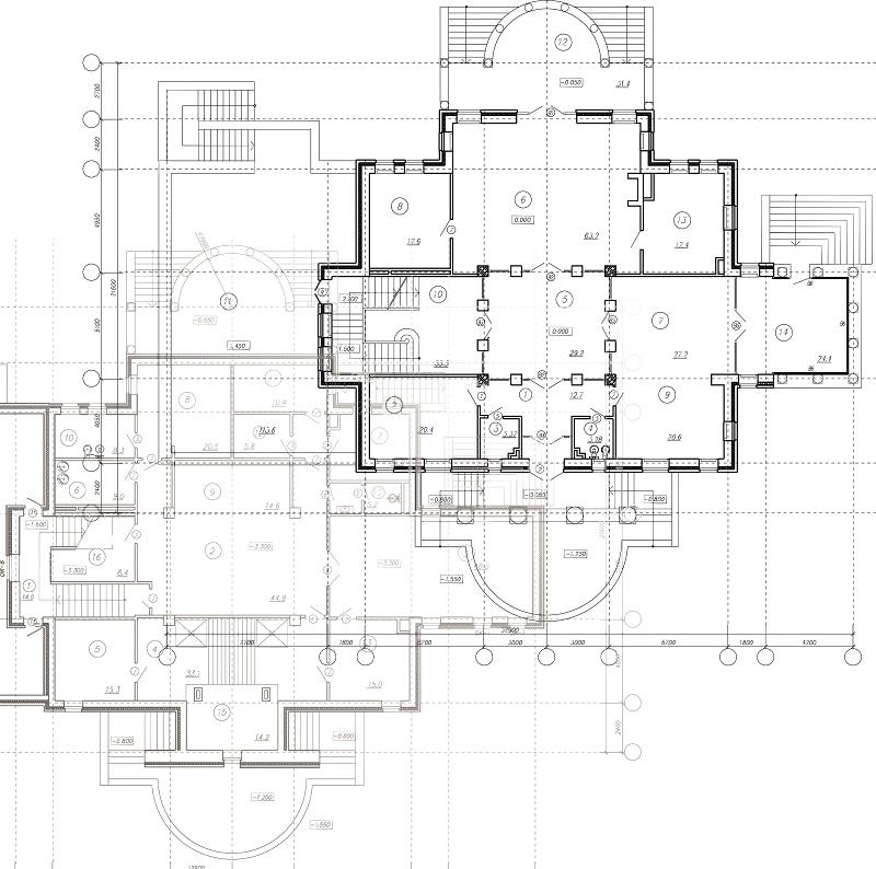 технический план здания, помещения